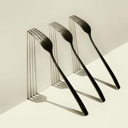abstract met 3 vorken