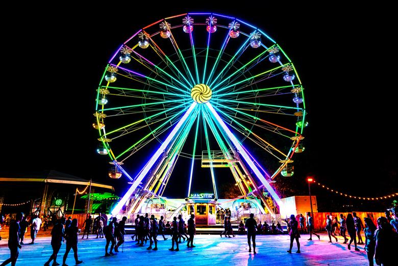 Ferris Wheel @ Creamfields