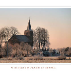 Wintermorgen in Eenrum