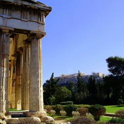Griekse Agora in Athene