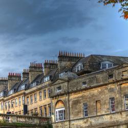 The city of Bath(GB).City of chimneys._01