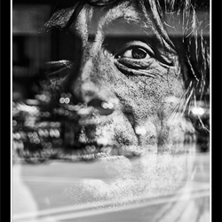 Refelecting portrait 05