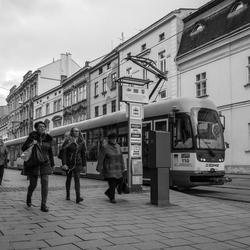Straatbeeld Olomouc