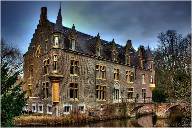 Kasteel Terworm - Kasteel Terworm in Heerlen. Het oude kasteel ligt in een prachtig landgoed.