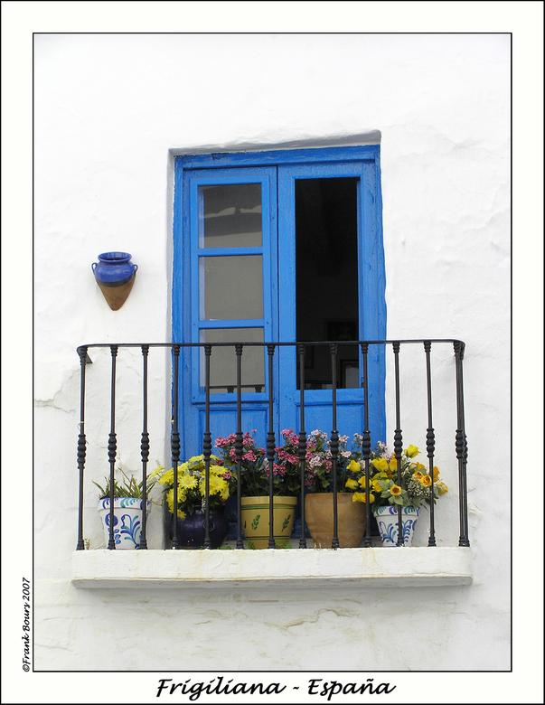 Espana 2 - Nog een opname van Frigiliana, Andalusië