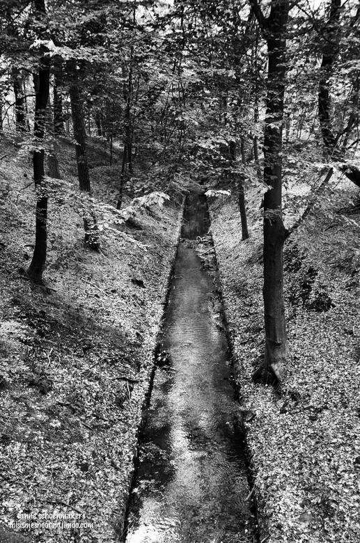Water - Het kanaal wat naar de watervallen leidt.<br /> Het licht heb ik extra aangezet