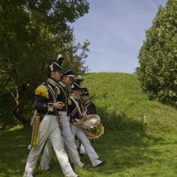 Fort Sabina, Marcheren