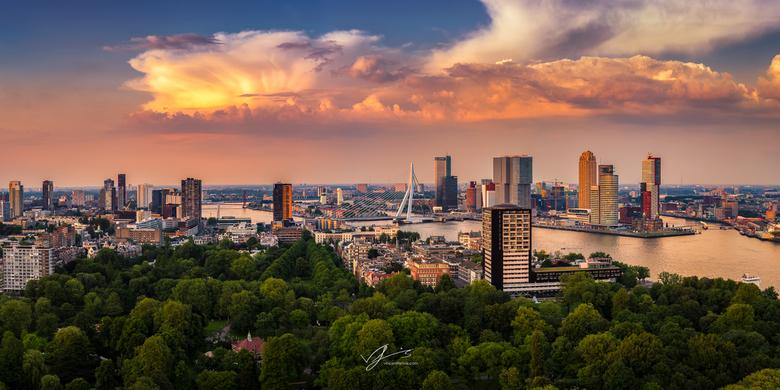 Panoramic Rotterdam - Afgelopen weekeinde was het weer super lekker weer in een groot deel van Nederland. Dit zorgde ook voor plaatselijke en heftige