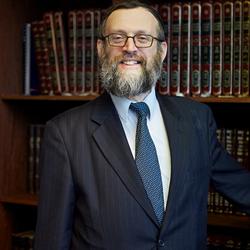 Rabbijn van de serie geloven