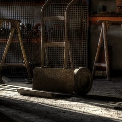 Werkplaats steekwagen