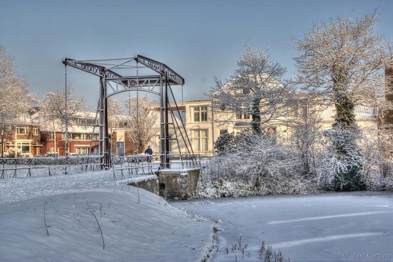 Gerestaureerde Raambrug Deventer 2 - Gerestaureerde Raambrug Deventer <br />  <br /> Aan de rand van oude industriewijk de Raambuurt in Deventer sta