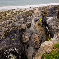 Steen en zee