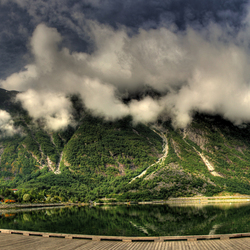 eidfjordfjell panorama