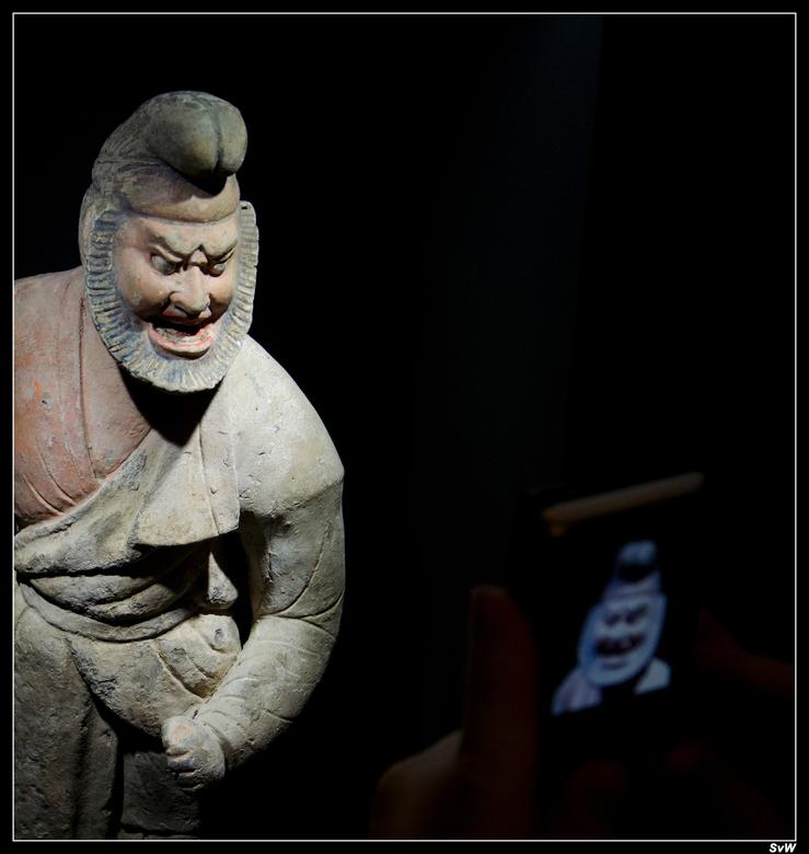 Foto - Foto van het fotograferen in het Drents Museum (gouden eeuw van China)