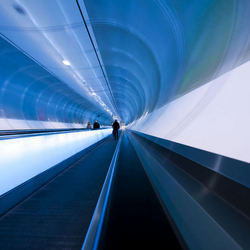 Blue tunnel vision