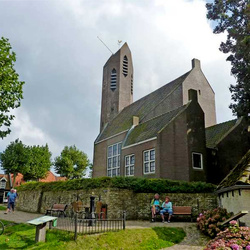 Nederland protestantse kerk in De Waal