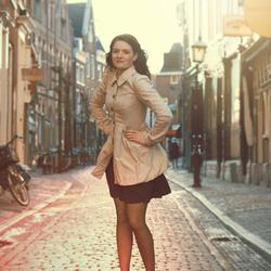 Rianne in Haarlem