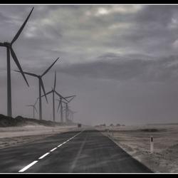 Zandstorm Maasvlakte 2