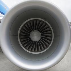 Detail straalmotor Embraer ERJ-175STD
