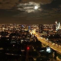 Panorama Rotterdam nacht