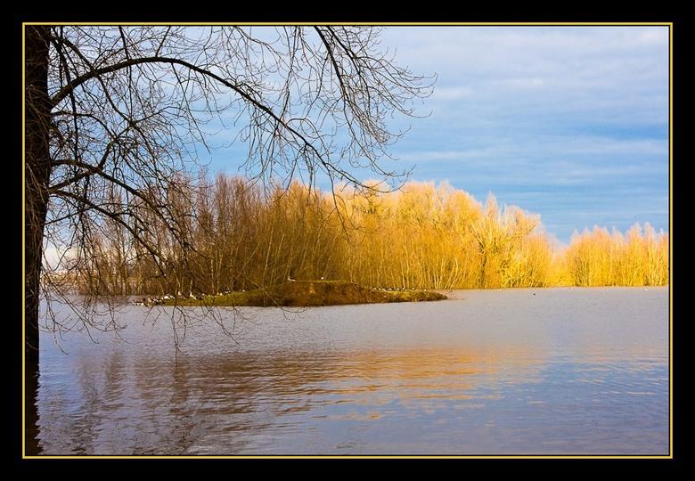 rivierenland 2 - Vanmorgen heel vroeg op pad gegaan om foto's te maken van onze rivieren. na de zonsopgang duurde het nog een tijd voor er even e