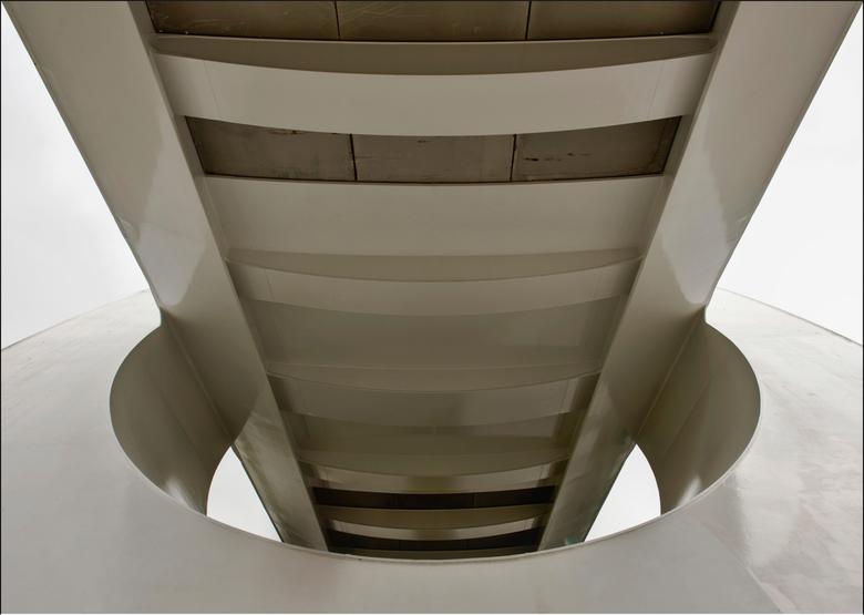 Spoorbrug Zuidhorn abstract