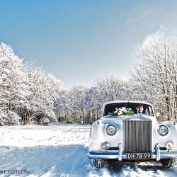 Sneeuw witte Rolls ... (3)