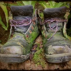 Oude schoenen