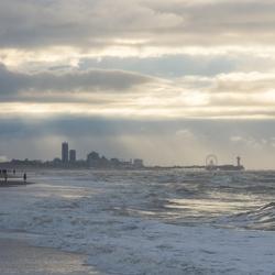 Strand nabij Scheveningen