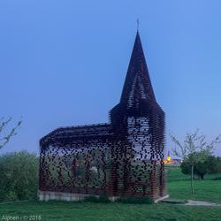 Doorkijkkerk in Borgloon, België