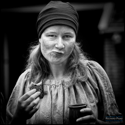 Middeleeuwse vrouw