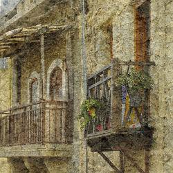 Italian balkony
