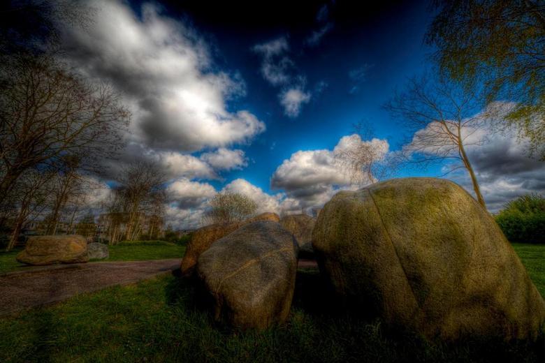 It Rocks - een HDR van een verzameling stenen bij mij in de buurt
