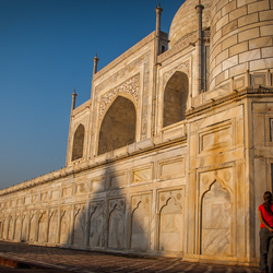 Meeting the Taj Mahal