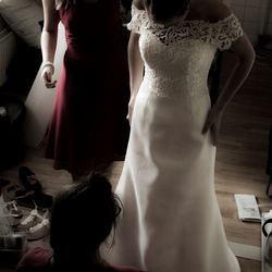 Prepare the dress