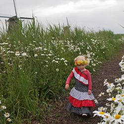 Bloemen in Kinderdijk
