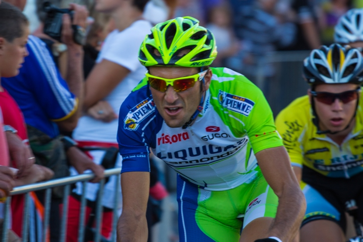 """Ivan Basso - Ivan Basso tijdens de Ronde van Boxmeer """"Daags na de Tour"""""""