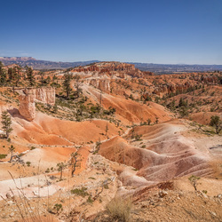 View on Bryce Canyon