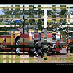 coulage 4 auto's bewerkt