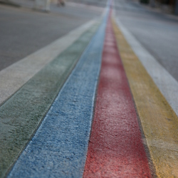 Follow the green line