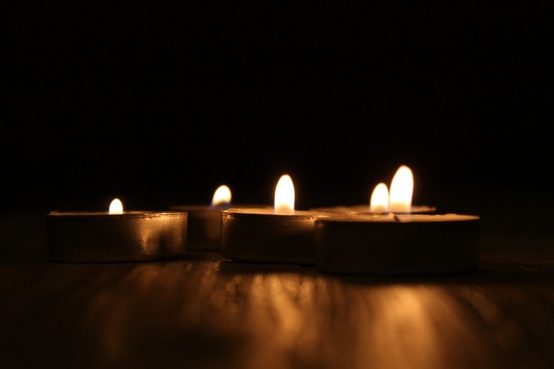 Candle lights - A composition with candle lights<br />