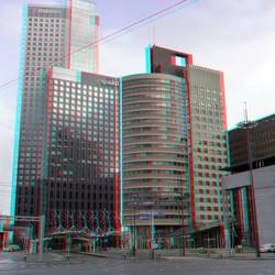 Hoogbouw Wilhelminaplein Rotterdam 3D