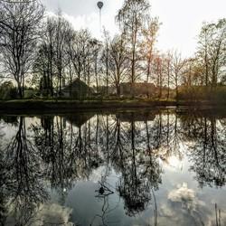 #380kVNEE ballon boven Oosterheide