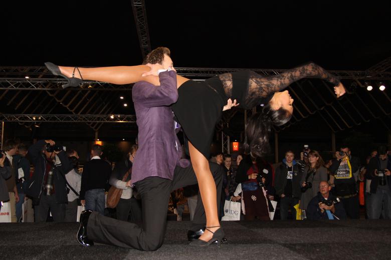 in evenwicht - dansoptreden tijdens de zoomexperience van 2009