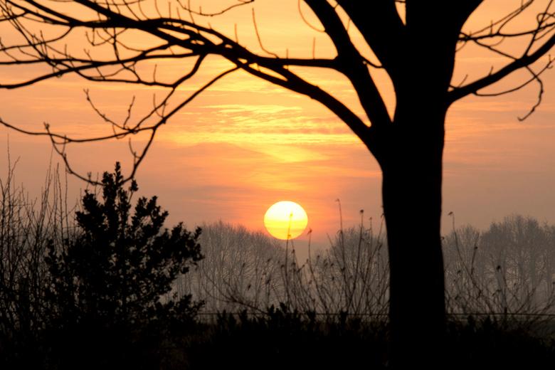 zonsopkomst - De dag begon vandaag zo mooi...