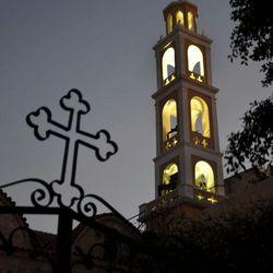 Kerk in Rhodos-stad