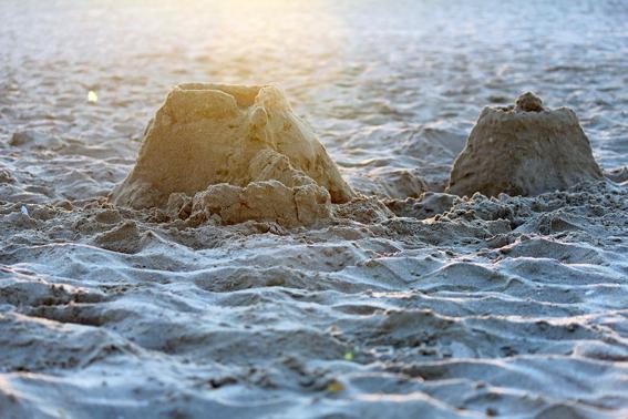 Two sandbuildings 2 - Two sandbuildings