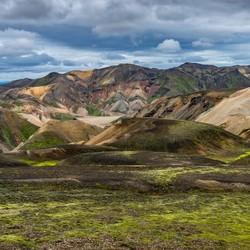 101 landschappen in Landmannalaugar, IJsland