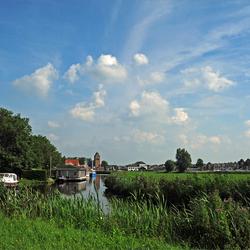Grou, het dorpje aan het Pikmeer.