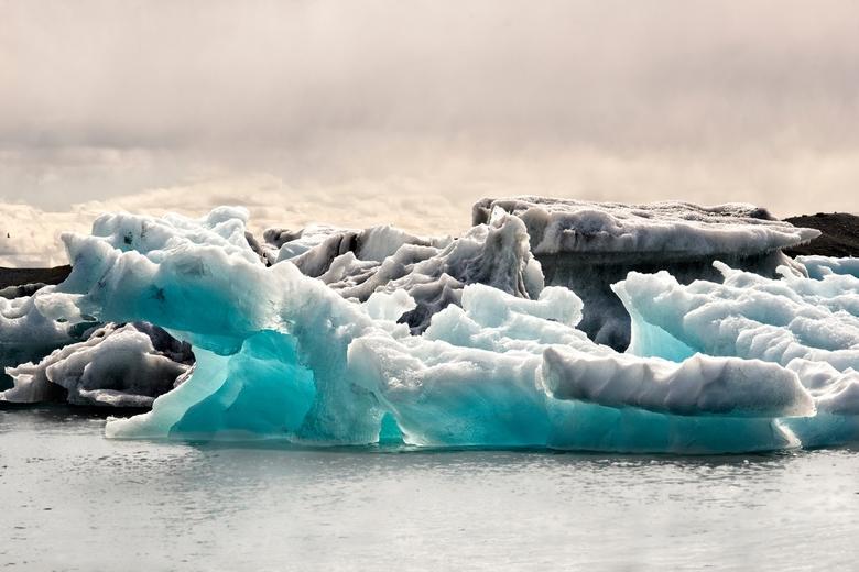IJs in IJsland - IJsbergenmeer Jokulsarlon
